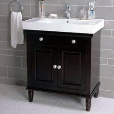 washstand bathroom pine: quot single bathroom vanity in dark brown by lanza wayfair