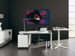 contemporary home office furniture sydney black and white office furniture