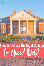 how to choose the right college to avoid debt lendedu availability of desired major