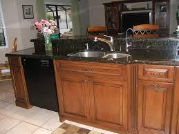 Black Kitchen Soap Dispenser Elegant Decorating Ideas Using Round Brown Sinks And Black Single