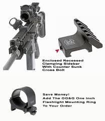 <b>45 Degree Offset Mount</b> - Accessory Rail | GG&G Tactical Accessories