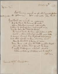 correspondence the keats letters project keats to haydon 20 nov 1816 john keats collection 1814 1891 ms keats 1 3 houghton library harvard university