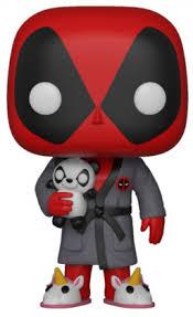 Купить <b>Фигурка Funko POP</b>: Deadpool – Bedtime Deadpool <b>Bobble</b> ...