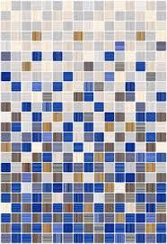 <b>Керамическая плитка Керамин Гламур</b> 2С голубой микс ...