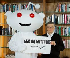 Bill Gates' best AMA answers on Reddit (pictures)