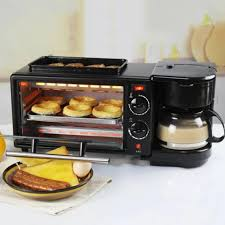 3 in 1 <b>Home Breakfast</b> Machine Coffee Maker Electric Oven <b>Toaster</b> ...