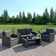 Poly Rattan Garden Furniture - Amazon.co.uk