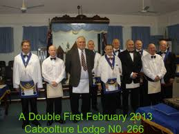 welcome to masonry caboolture brisbane another double first degree mr s clark mr s batty have been waiting for the last four months to be initiated into masonry by caboolture lodge