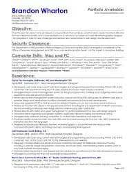 cover letter objective for resume server objective for resume cover letter resume template objective for resume restaurant photo food of developed a unique skill set