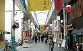 KAWABATA SHOPPING ARCADE   川端通商店街