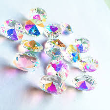 <b>Fashion Rainbow</b> 500pcs AB <b>Color Crystal</b> Glass Octagon Beads in ...