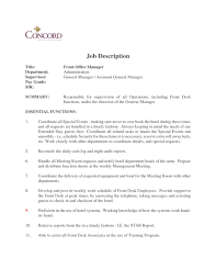 front desk manager duties hostgarcia medical receptionist cv template job description resume sample