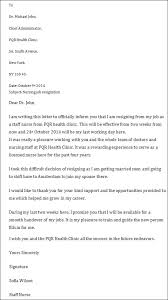 printable sample letter of resignation form resignation letter  job resignation letter due to health reason