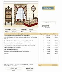 interior design invoice sample interior design invoice sampledesignart