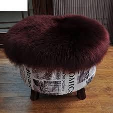 Pure Color Chair Cushioning,Ass Cushion Round Futon Mat ...