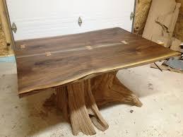 live edge wood dining live edge black walnut dining room table