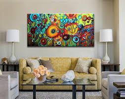 2019 <b>Large</b> Modern Abstract Art <b>Home Decor Handpainted</b> &HD ...