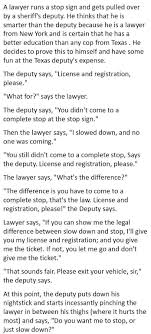lawyer tried behaving like a wise guy a police officer lawyer vs cop