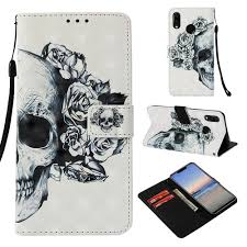 <b>3D Painted Flip</b> Leather Wallet Slots Stand Case Cover for Motorola ...