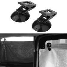 <b>2 Pcs/Lot Car</b> Window Mount Suction Sucker Clips Hook Holders ...