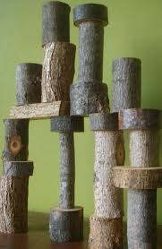 Image result for small logs for loose parts play