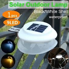 <b>Outdoor</b> 9 <b>LED Gutter</b> Light Waterproof Security Lamps for Eav Solar ...