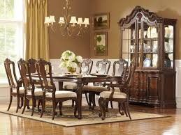 Formal Dining Room Furniture 10 Person Dining Room Table Is Also A Kind Of Stylish Brown And
