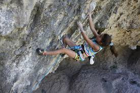 Brooke Raboutou Erbesfield. La mujer más joven del mundo en conseguir 8c