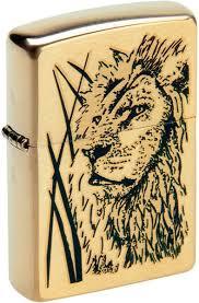 Бензиновая <b>зажигалка Zippo</b> Z_204B-Proud-Lion — купить в ...