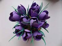фоамиран: лучшие изображения (84) в 2019 г. | Тканевые цветы ...