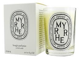 <b>Ароматическая свеча</b> Myrrhe Candle Diptyque купить, цена на ...