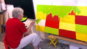 "Mary Heilmann in ""<b>Fantasy</b>"" (SEGMENT) 