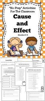 best ideas about cause and effect cause and a cause and effect activity book for the classroom by doreen m