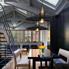 Modern <b>Vintage</b> Industrial <b>Rustic Bar</b> Loft Metal Pendant Ceiling ...