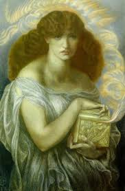 v omalous identified box like objects part  one of dante gabriel rossetti s famous pandora paintings 1879
