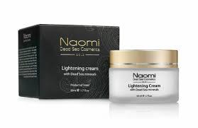 <b>Осветляющий крем для</b> лица и шеи NAOMI с минералами ...