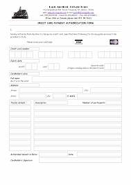 credit card form templates formats examples in word excel credit card form template 641