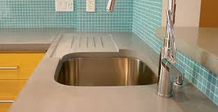valley concrete bathroom ketchum ftc: concrete countertop and drainboard feat concrete kitchen countertop dale