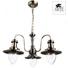 <b>Люстра подвесная arte lamp fisherman</b> a5518lm-3ab с бесплатной ...
