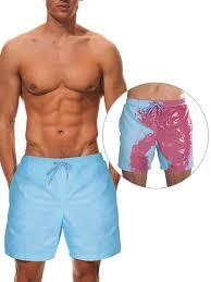 Sexy Dance - <b>Men's Color</b>-<b>changing</b> Swimsuits Swim Shorts <b>Beach</b> ...