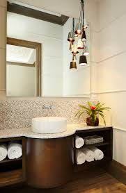 contemporary bathroom lighting bathroom tropical with beige wall clustered pendant tropical bathroom lighting bathroom contemporary bathroom lighting
