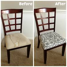 Reupholstering Dining Room Chairs How To Recover Dining Room Chairs Recovering Dining Chairs