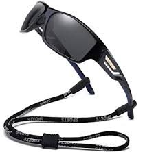 Bevi Polarized Sports Sunglasses TR90 Unbreakable ... - Amazon.com
