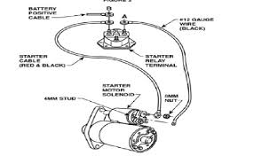anyone a wiring diagram for new style starter vintage report this image