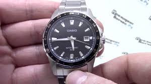 <b>Часы Casio MTP</b>-<b>1290D</b>-<b>1A2</b> [MTP-1290D-1A2VEF] - видео обзор ...