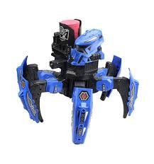 <b>Радиоуправляемый робот</b>-паук <b>CS</b> Toys с пульками дисками и ...