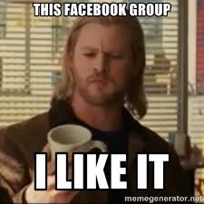 This Facebook Group I Like It - Thor ANOTHER | Meme Generator via Relatably.com