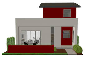 Modern House Plans  Contemporary House Plans  Free House Plans    contemporary small house plan