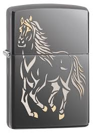 <b>Зажигалка Running</b> Horse <b>ZIPPO</b> 28645 купить оптом в Москве
