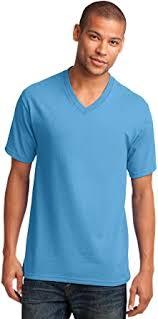 Port & Company <b>Men's</b> 54 oz <b>100</b>% <b>Cotton</b> V Neck <b>T Shirt</b> | Amazon ...